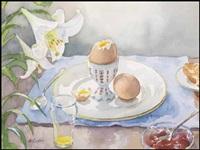 breakfast still life by henry john simpkins