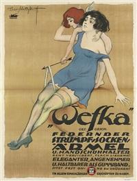 wefka/federn der strumpfsocken by theo matejko