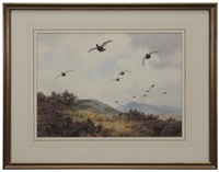coming to the butts-grouse by john cyril harrison