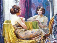 the boudoir by joseph ernest sampson