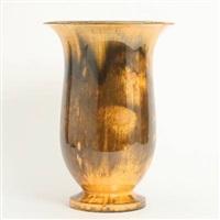 tulip-shaped vase by kähler pottery (co.)