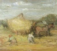 de oogst by louis pevernagie