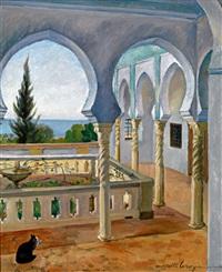 patio de la villa abd-el-tif by camille leroy