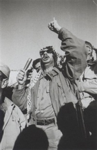 arafat in amman by hilmar pabel