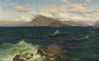 norwegische küstenlandschaft by julius friedrich ludwig runge