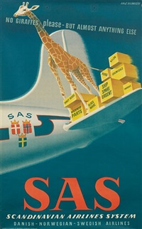 sas/no giraffes, please - but almost anything else by aage rasmussen