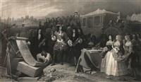 louis xiv fonde l'hôtel des invalides by eugene-pontus jazet