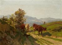 berger et son troupeau by alfred robert quinton