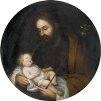 josef mit dem jesuskind by vicente juan (de juanes) masip