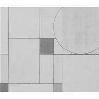 part circle painting, chinese white by george dannatt