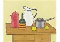 still life on the table by seiichi kasai