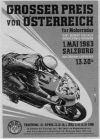 grosser preis von österreich by posters: motorcycles