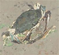 blue crab by wu guanzhong