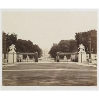 jardin des tuileries (+ place de la concorde; 2 works) by achille quinet