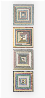 squares (in 4 parts) by jennifer bartlett