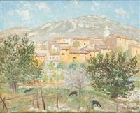 paysage méditerranéen en 1945 by josep coll bardolet