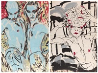 sans titre (diptych) by luciano castelli