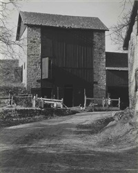 bucks county barn by charles sheeler