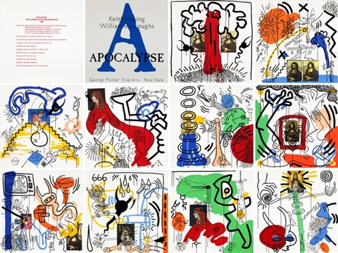 william s burroughs apocalypse by keith haring