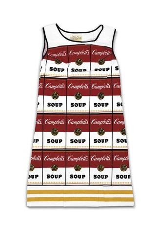 souper dress by andy warhol
