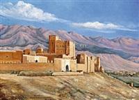 résidence du glaoui de marrakech by f.a. van heeteren