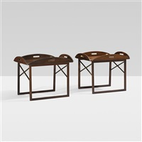 tray tables (pair) by svend langkilde