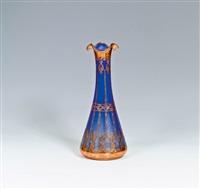 vase mit kupferdekor by carl goldberg