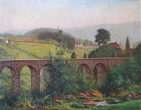 pontsarn viaduct by george f. harris