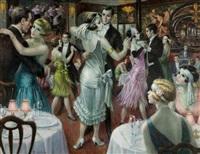 soiree dansante chez maxim's by francois batet