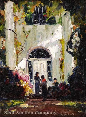 charleston doorway by anthony thieme