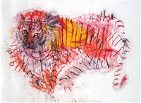 la chat grande (tiger) by martha c. kerschbaumer
