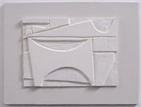 white relief by wilhelmina barns-graham