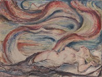 a dreaming nude by charles roelofsz