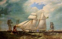 the topsail schooner yacht