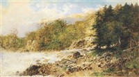 canadian river landscape by otto reinhold jacobi