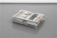 newspaper by robert gober