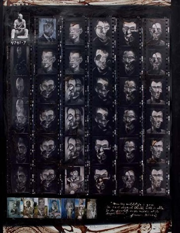 portraits london f bacon paris nairobi collected at hog ranch by peter beard