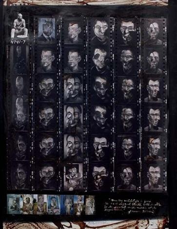 portraits london f bacon paris nairobi collected at hog ranch by peter beard