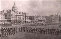 horse guards parade by reginald augustus wymer