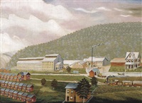 hudson valley industrial community by r. swanson