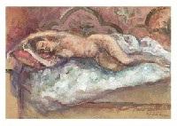 laying nude, dance (2 works) by yoshihiko wada