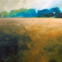 over the fields, st andrews by jenny aitken