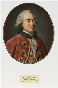 bildnis des georges-louis leclerc, comte de buffon (after françois garnerey) by pierre-michel alix