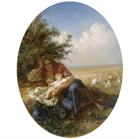 the young mother by nikolai y rachkov