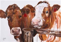 two cows by georgina s. mcmaster