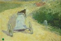 la course automobile by jack artigue