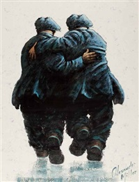 stan and ollie by alexander millar