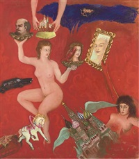 venus and the revolution - the coronation by suzanne treister