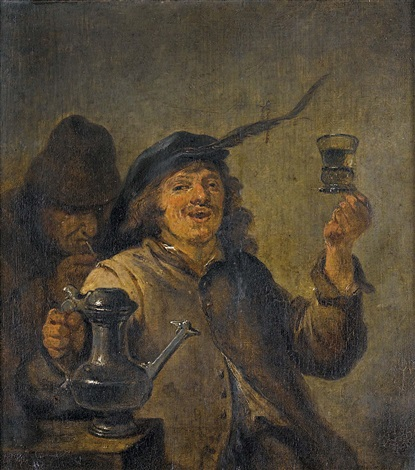 de smaak der geschmack by david teniers the younger