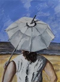 under an umbrella by natalia nesterova